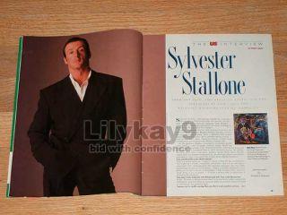 Sylvester Stallone Rocky Jonathan Frid Dark Shadows Johnny Depp US