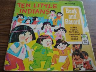 Peter Pan Records 10 Little Indians No Record 1960