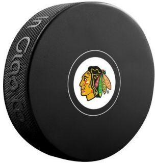 Chicago Blackhawks NHL Team Logo Autograph Model Souvenir Hockey Puck