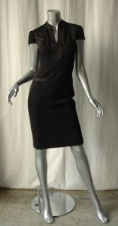 Diane Von Furstenberg DVF Black Bundia Knit Dress 2
