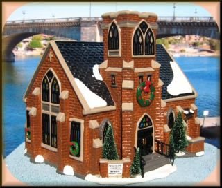 New Hope Church UTube New Department Dept 56 Snow Village D56 SV