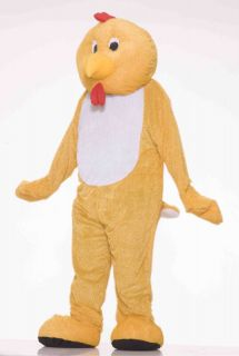 Deluxe Plush Chicken Adult Mascot Costume Standard Size NEW