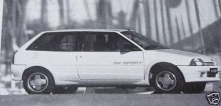Original 1987 Road Report Citroen AX Sport