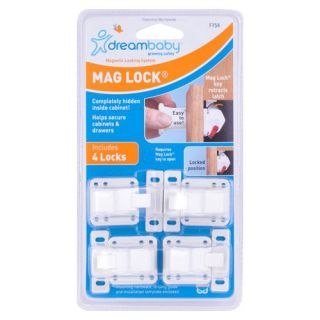 Dream Baby Mag Lock on Off Magnetic Cabinet Child Safety Latch Lock