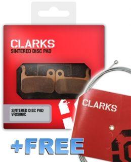 Clarks Shimano XTR Disc Pads FOC Inner GearWire