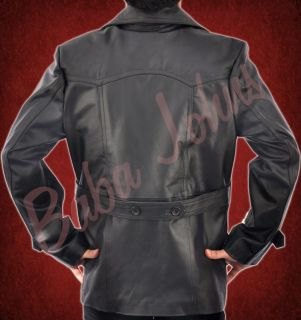 Mens Eccleston Dr Who U Boat TV Series German WWII Original Leather