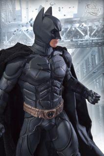 Batman Dark Knight Rises Batman Icon Statue DC Direct 761941309057