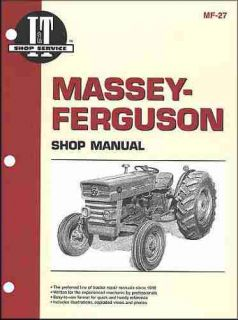 Complete Massey Ferguson Repair Shop Service Manual Models MF135 MF150