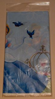 Disney Cinderella Birthday Party Plastic Table Cover Hallmark