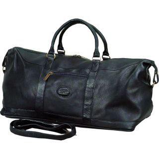 ClaireChase All American Premium Leather Duffle Bag