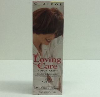 Clairol Loving Care Color Creme 80 Auburn