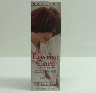 Clairol Loving Care Color Creme 80 Auburn