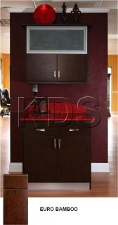 Euro Bamboo RTA Kitchen Cabinets Eco Friendly with Beefy Frameless