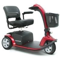Pride Mobility Victory 10 3 Wheel Scooter YOU CHOOSE RED or BLUE