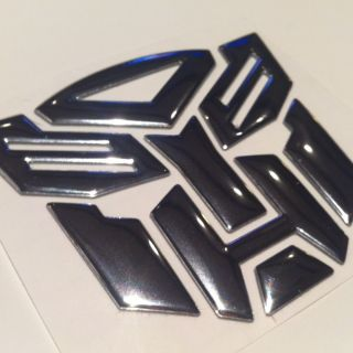 Emblem Autobot Badge Honda Civic Accord Toyota Corolla Camry 2
