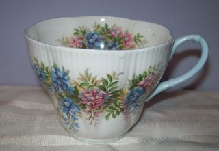 Vintage Royal Albert Bone China Blossom Time Series Wisteria Teacup