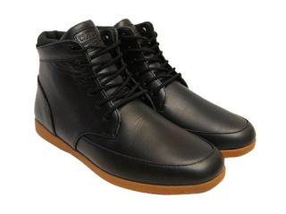 Clae Mens Hamilton CLAO1261 Black Grizzly High Top Fashion Sneakers