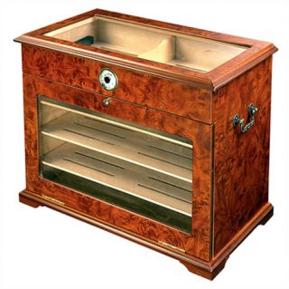 Cigar Cabinet Humidor Table End Display Case 400ct 20