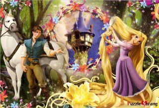 Jigsaw Puzzles 104 Pieces Big Piece Long Hair Rapunzel Disney
