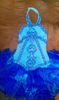 National Pageant Glitz Cupcake Dress Size 8 10