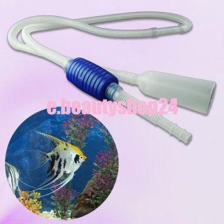 Aquarium Tank Pool Clean Cleaner Filter Water Pump Vacuum Siphon