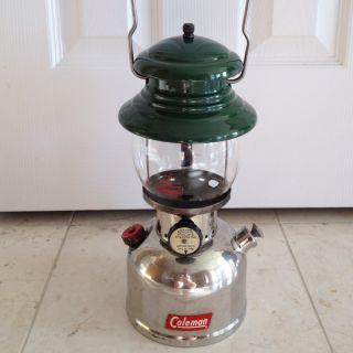 Vintage Coleman Model 202 Gas Lantern VG Condition