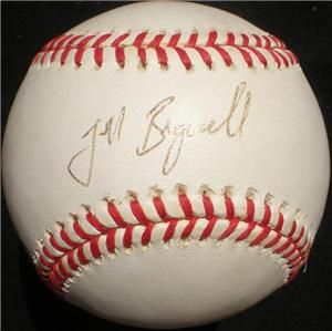 Jeff Bagwell Signed Ball Autographed Baseball Astros