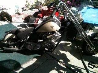 Harley Davidson Motorcycle Chopper 49cc Mini Bike
