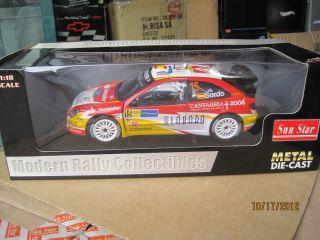 Citroen Xsara WRC Rally de Espana 2006 4421 Sunstar 1 18