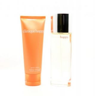 New Clinique Happy Womens Fragrance Perfume Spray 1 7 oz Body Cream 2