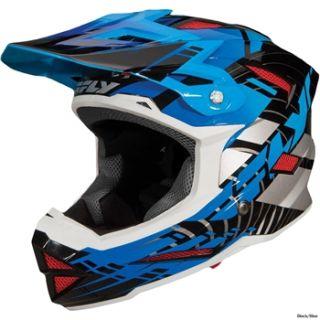 Fly Racing Default Helmet   Red/White 2013