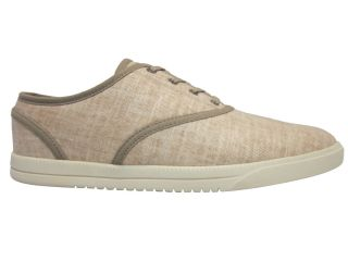 Clae Mens Bruce CLAO1247 Oatmeal Denim Lace Up Fashion Sneakers Shoes