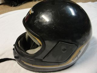Vintage Grant Full Face Motorcycle Helmet
