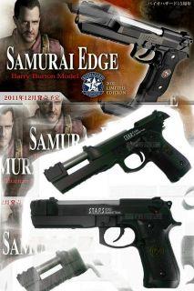Evil Samurai Edge Barry Burton Model Air Soft Gun Import