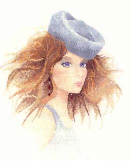 John Clayton Elegance Series Cross Stitch Pattern Chart Natasha