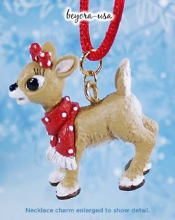 Clarice with Scarf Necklace from the Rankin/Bass movie Rudolph the Red