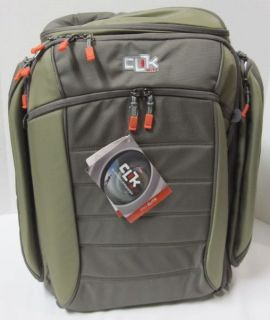 Clik Elite Pro Camera Backpack CE 105gr Gray New with Tags
