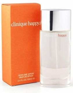 Clinique Happy Perfume Spray Parfum 3 4 FL oz 100 ml New SEALED in Box