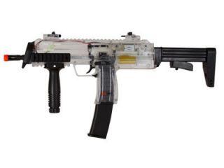 MP7 AEG Airsoft Submachine Gun Clear Officially Licensed Replica