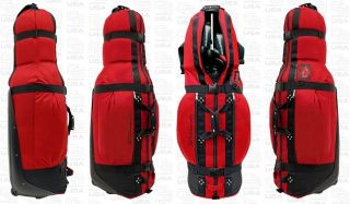 Club Glove Golf Travel Last Bag Red w Free Stiff Arm