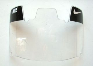 UNIVERSAL CLEAR OAKLEY/NIKE FOOTBALL HELMET FACE GUARD SHIELDS VISOR