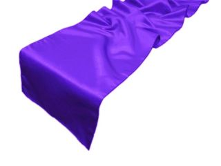 20 12 x 108 Lamour Satin Table Runners Linens
