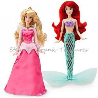 New  Classic Princess 10 12 Doll Set Rapunzel Ariel Belle