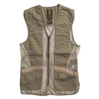 Browning Sporting Skeet Clay Pigeon Shooting Vest Green
