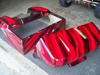 Custom Painted Club Car Golf Car Cart Buggie Body