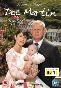 doc Martin Martin Clunes Complete Series 1 5 New SEALED DVD Box Set