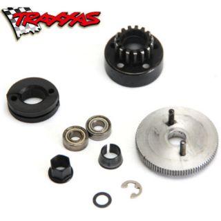 Traxxas Clutch Bell Assembly Bearings Shoe Wheel Clips