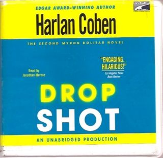 DROP SHOT by HARLAN COBEN UNABRIDGED CD AUDIOBOOK