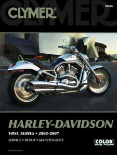 Clymer Repair Service Manual Harley Davidson V Rod VRSC Series 02 07