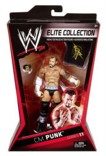 CM PUNK WWE Mattel Elite series11 NEXUS
